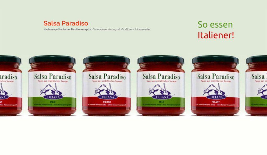 Salsa Paradiso von Hermina Deiana