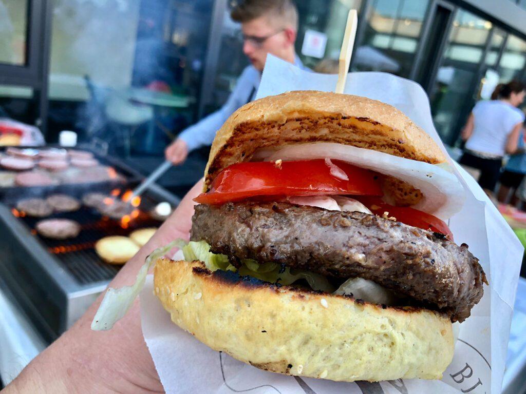 Der Büffel Bill Burger.