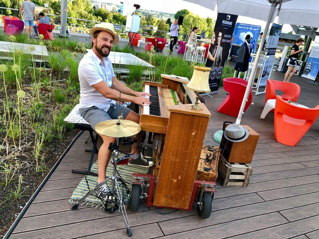 Musikalische Unterhaltung durch KLEIN events.