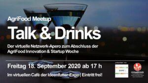 Ideenfutter Expo Talk & Drinks